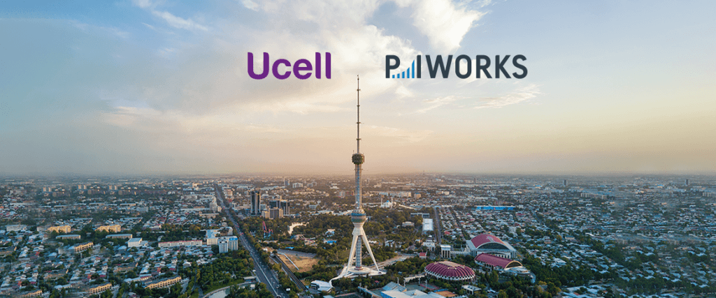 Ucell and P.I. Works Teamed Up to Turn Business and  Network Data into Actionable Insights
