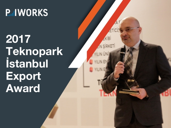 "P.I. Works Wins Teknopark Istanbul ""Technology Export Award"""
