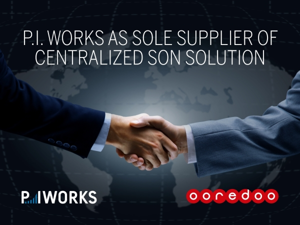 Ooredoo Group Selects P.I. Works as Sole Supplier of cSON Solution